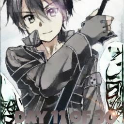 sao sword swordartonline freetoedit kirito