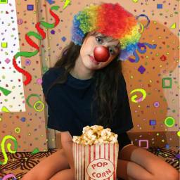 haleymoralesisoverparty haleymorales clown stupid circus freetoedit
