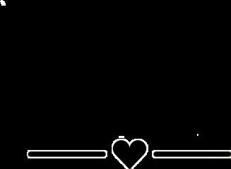 heart love black blackheart lines freetoedit