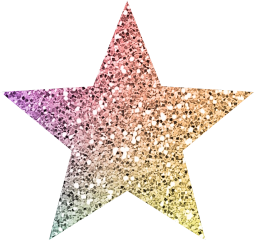 glitter rainbow shimmer star stars freetoedit