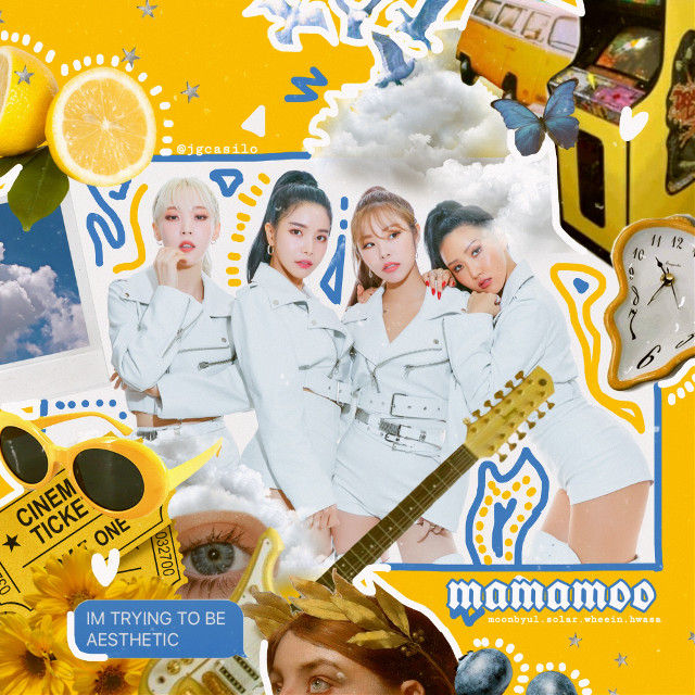 oops heres my reentry i forgot that we couldnt show any other brand name/logo in the remix! anyways i like this better than the old one so this s ACTUALLY my third entry :,) #kconla19 #mamamoo #aesthetic #aestheticedit #mamamooedit
