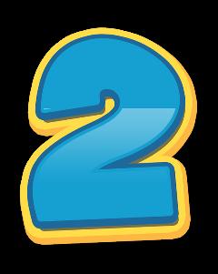 2 numero numeros number numbers freetoedit