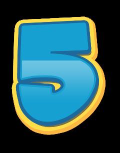 5 numero numeros number numbers freetoedit