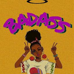 freetoedit queen badass badgirl wow