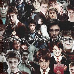 freetoedit harrypotter happybirthday hogwarts ronweasley