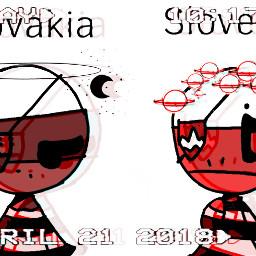 slovenia slovakia countryhumans goodmorning boredasf