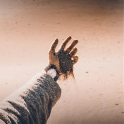 desert watch sand hand hands freetoedit