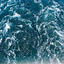 freetoedit sea ocean waves foam pcshadesofblue