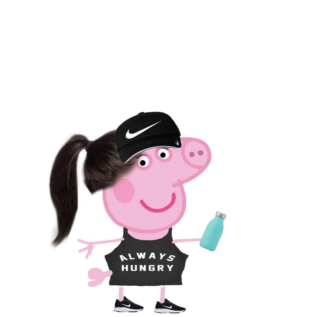 #freetoedit #sporty #peppa #pig #peppapig #sportypeppa #sportypig
