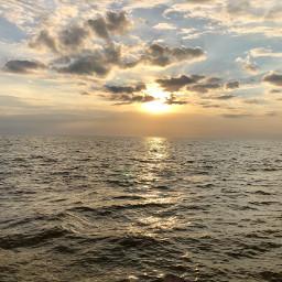 thesea sunset