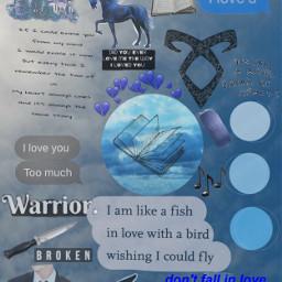 willherondale shadowhunter london asthetic blue freetoedit