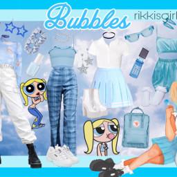 rikkisgirl bubbles powerpuff powerpuffgirls powerpuffgirl freetoedit