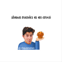 8 muffin shawn mendes mendesarmy freetoedit