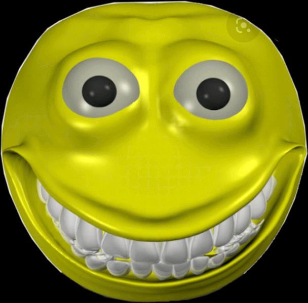 cursed meme scary memes freetoedit emoji smile smileyf...