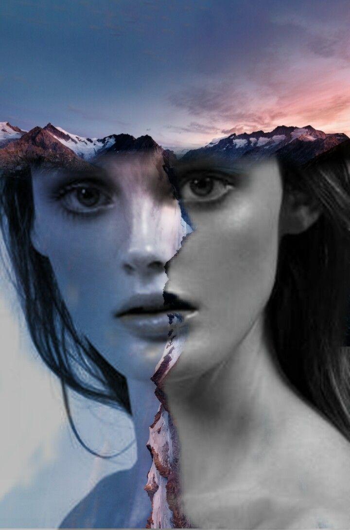 #freetoedit #doubleexposure #girl #portrait #nature #road #madewithpicsart