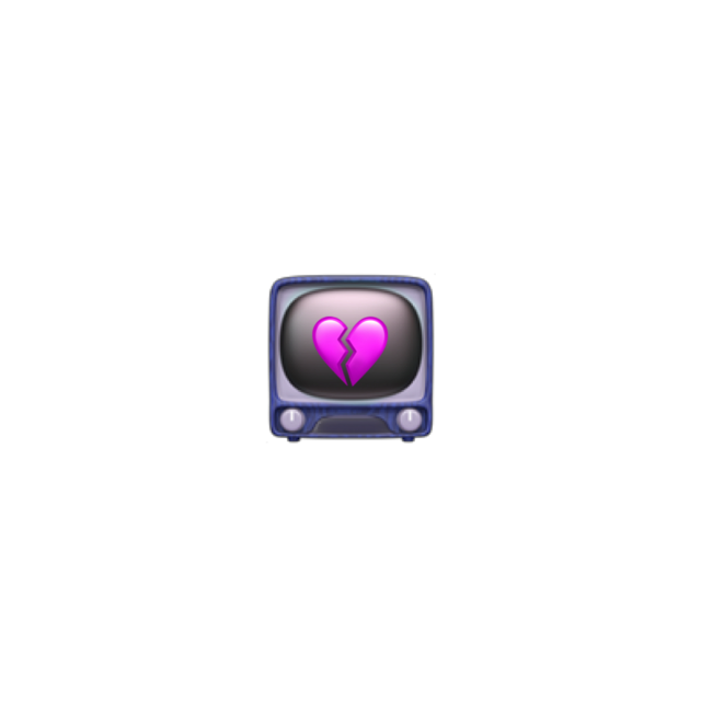 #tv #sad #vaporwave #emoji #heart #love #pink #emojicrown #freetoedit