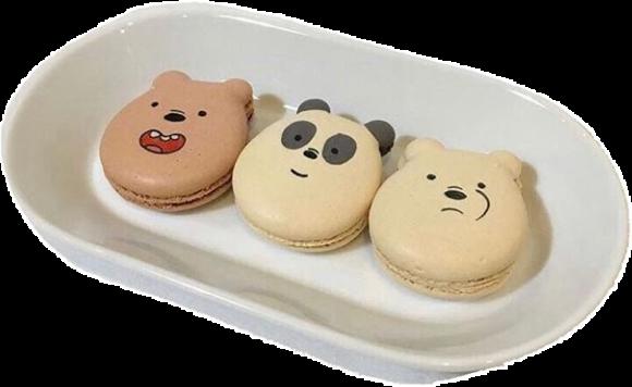 #webarebears #macarons #foodpngs #foodstickers #sweet #dessert