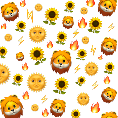 leoseason leo sunflower yellow fire freetoedit