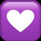 #emojis #heart #purple #white 💟 #freetoedit