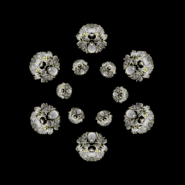 #sticker #sfghandmade #dragons #circle #wreath #rings #picsartfun #freetoedit