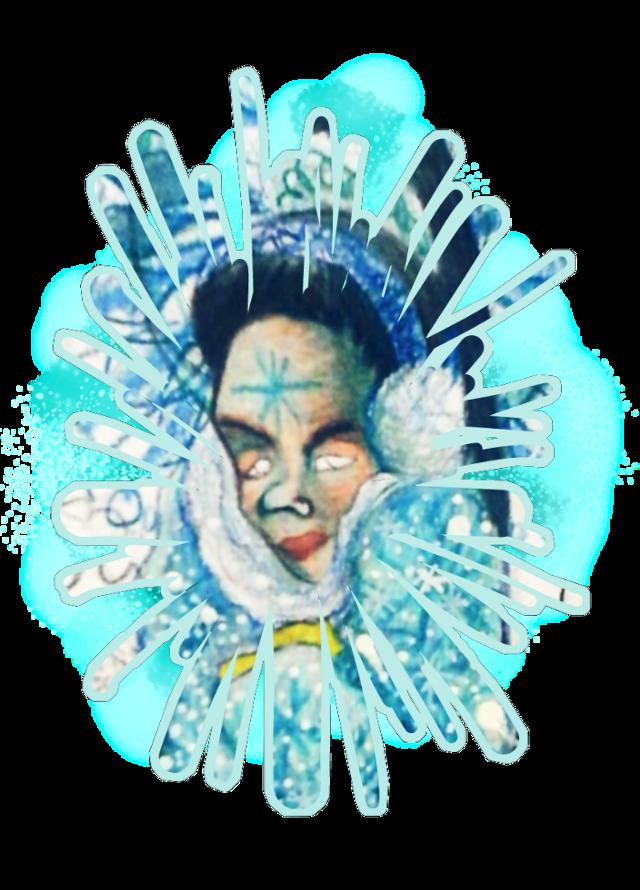 #snowflake #holiztridodi #hollipolliyozza inspired by Billie Ellish and Ariana Grande