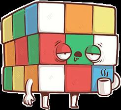 Rubiks! #sticker #rubikscube #freetoedit
