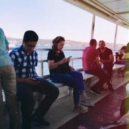 people ship istanbul bosphorus
