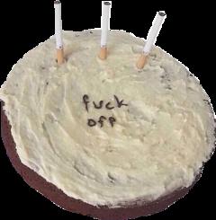 cake fuck swearing grunge baking freetoedit