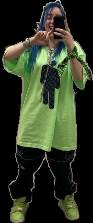 #billieeilish #billieeilishgreen #billieeilishsticker #billiefan #billie #billieeilishedit #strangerthings #harrypotter #shawnmendes