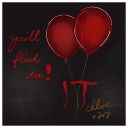 it stevenking stevenkingmovie redballon draw freetoedit