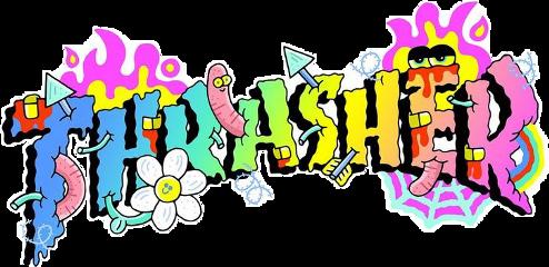 vsco thrasher skate rainbow brands freetoedit