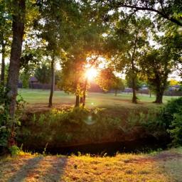 freetoedit oklahoma creek sun sunrays