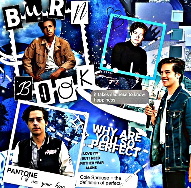 F o r    c o n t e s t 💙🖤 #1kofshadows @white_shadow79 i hope you like it😊💕 #complexedit #colesprouse #riverdale #overlays