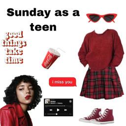niche sunday red cokecola dma freetoedit