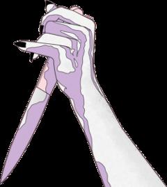knife kill purple cute handwriting freetoedit