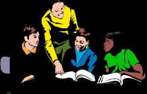 teacher students school table study freetoedit