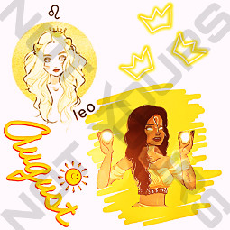 freetoedit leo zodiacsign noturs august