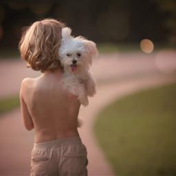 boy dog puppylove mansbestfriend street