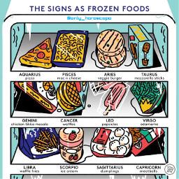 horoscope horoscopesigns zodiac zodiacsigns foods