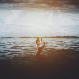 sky water lightening light sun freetoedit