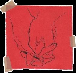 freetoedit sticker aesthetic tumblr red