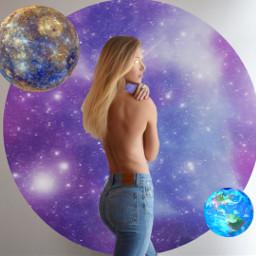 srcgalaxycircle galaxycircle freetoedit space moon