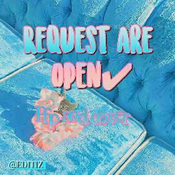 requestsareopen request requests pfpbackground