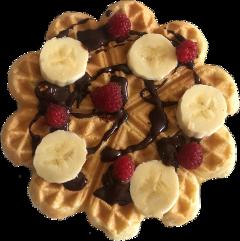 pancake waffle breakfast food dessert freetoedit