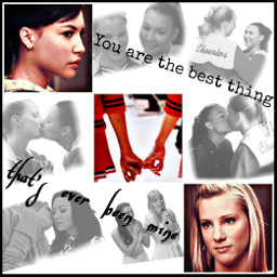 Largest Collection Of Free To Edit Brittana Glee Images On