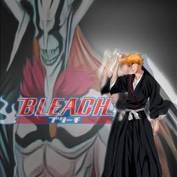 bleach animeedit anime ichigokurosaki bleachanime freetoedit