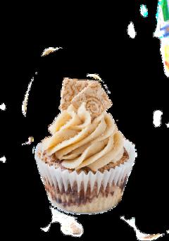 cupcake dessert sweet muffin brown freetoedit
