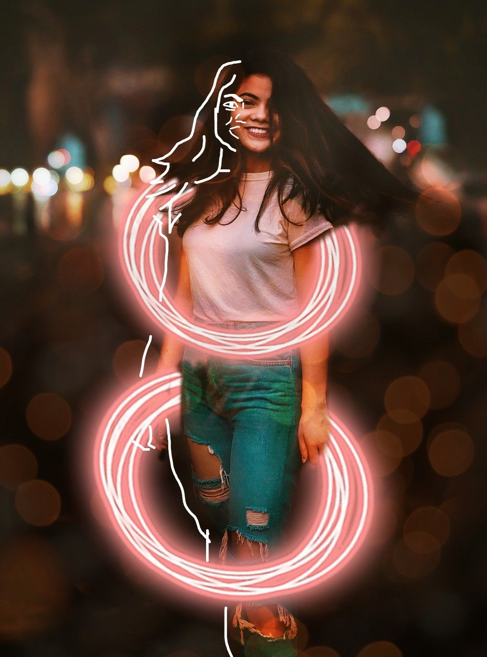 💫Losing an illusion makes you wiser than finding a truth.💫 . . . #freetoedit #filter #filters #bokeh #neon #neoncircle #neoncircles #girl #hair #smiling #happy #happiness #beautiful #cute #vintage #creative #artistic #outline #outlines #white