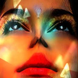 freetoedit artisticportrait beautiful mystical remixedwithpicsart