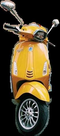yellow vitange motorcycle freetoedit